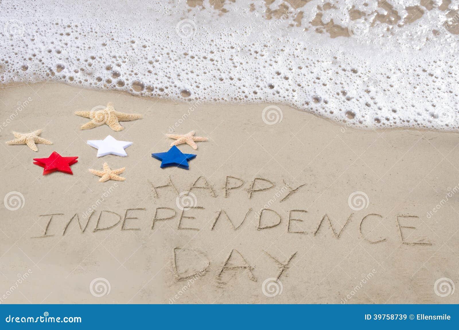 Fondo felice di festa dell indipendenza