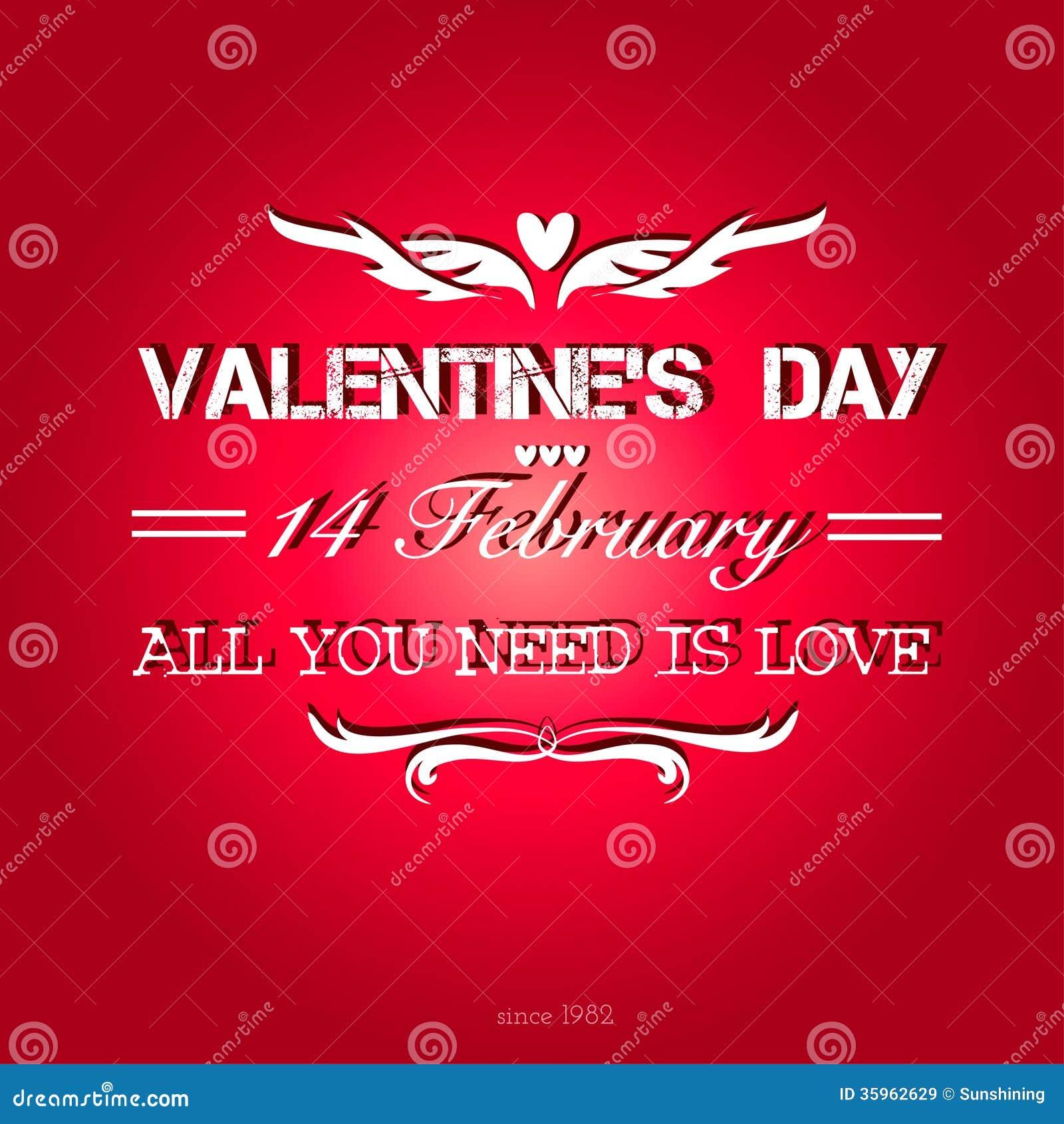 Fondo feliz del día de tarjetas del día de San Valentín.