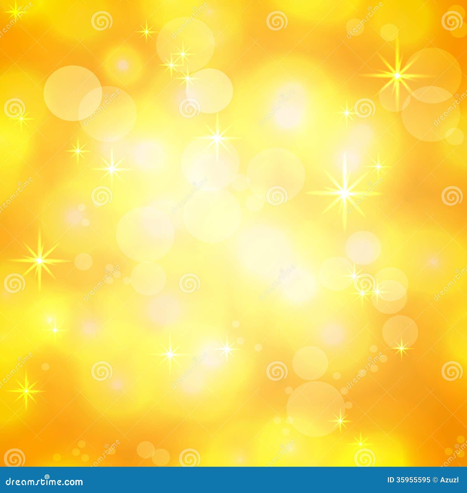 Fondo festivo brillante de oro