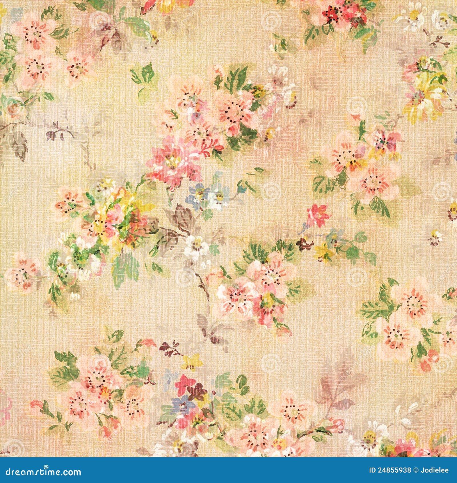 Fondo floral decorativo