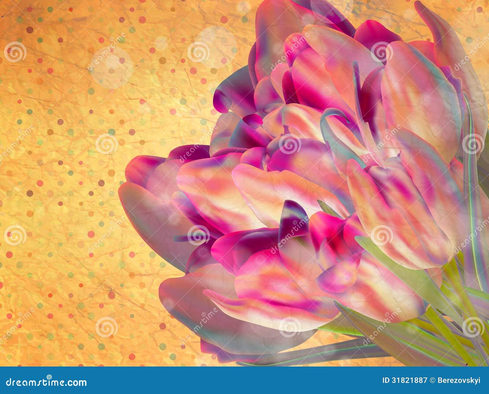 Fondo floral del marco del vintage. EPS 10