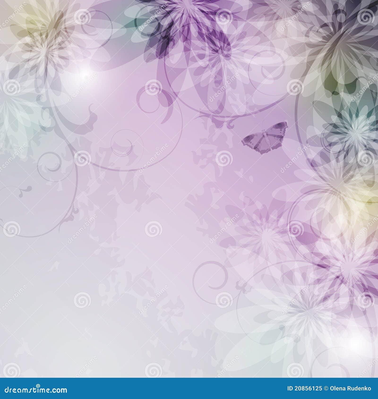Fondo floral elegante