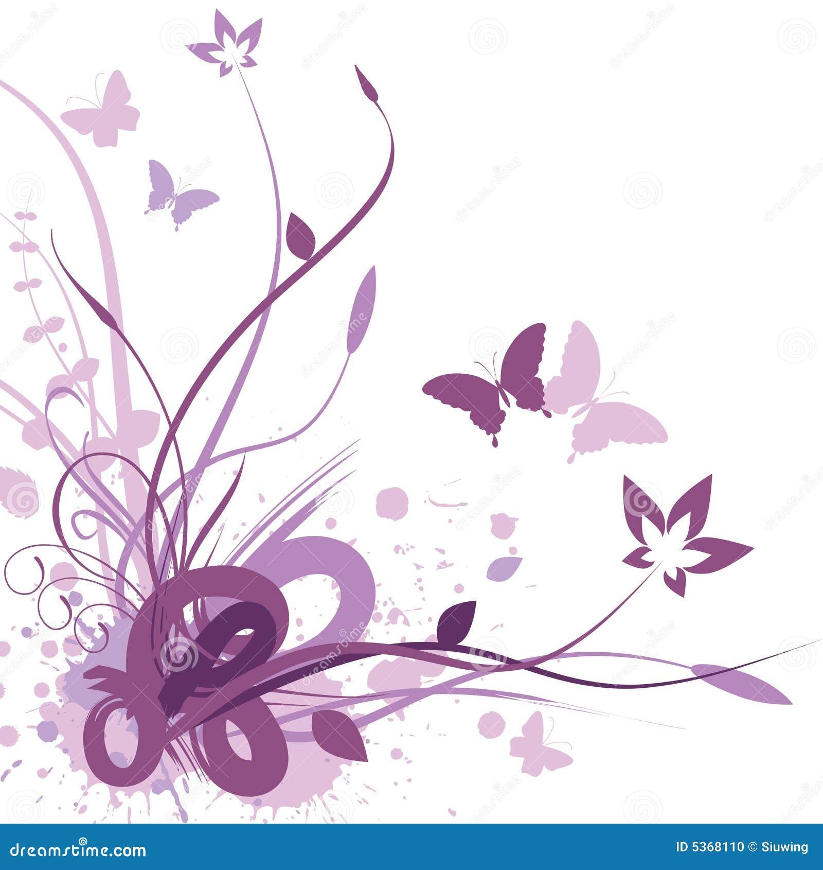 Fondo floral, ilustración del vector