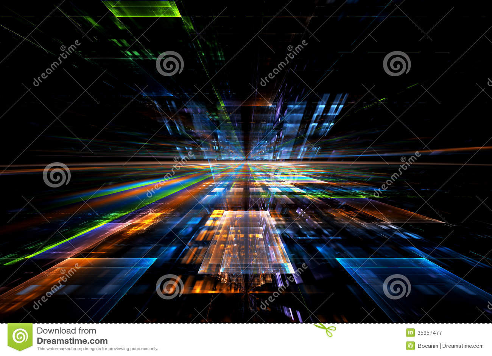 Fondo futurista abstracto