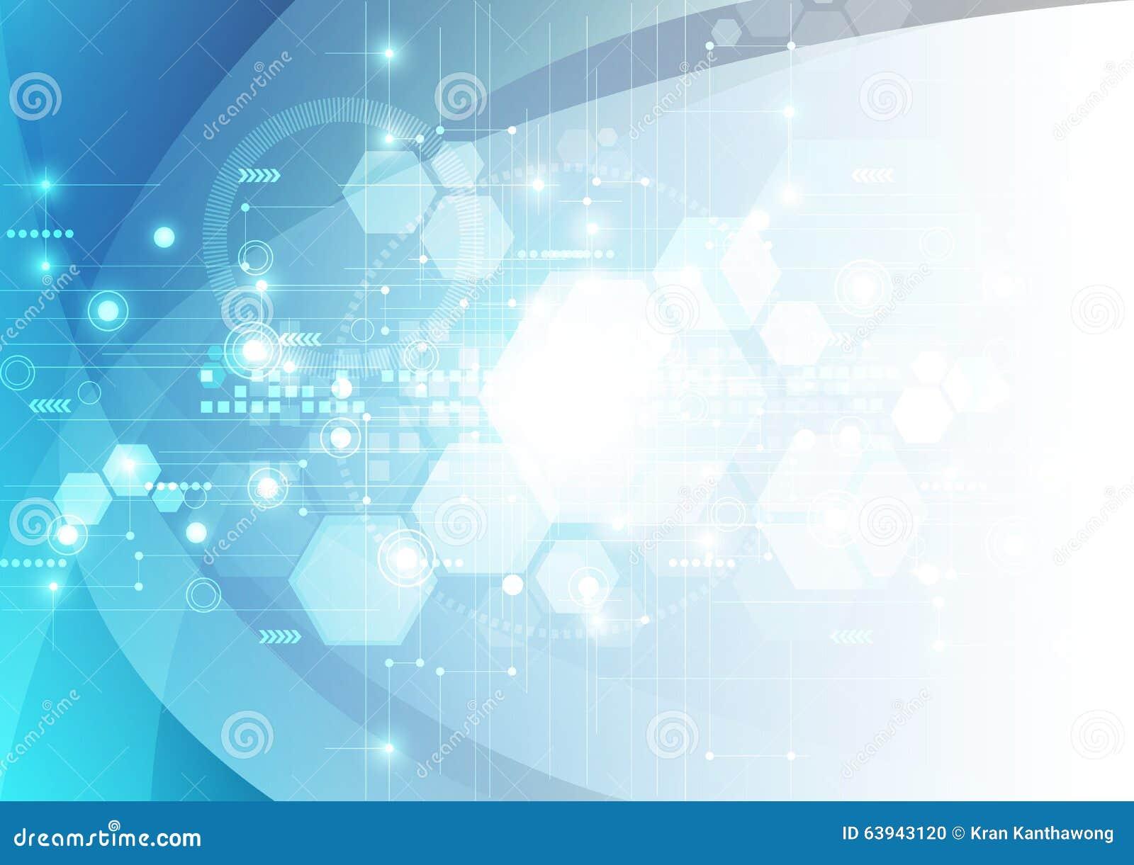 Fondo futuristico astratto di tecnologia digitale vettore dell illustrazione