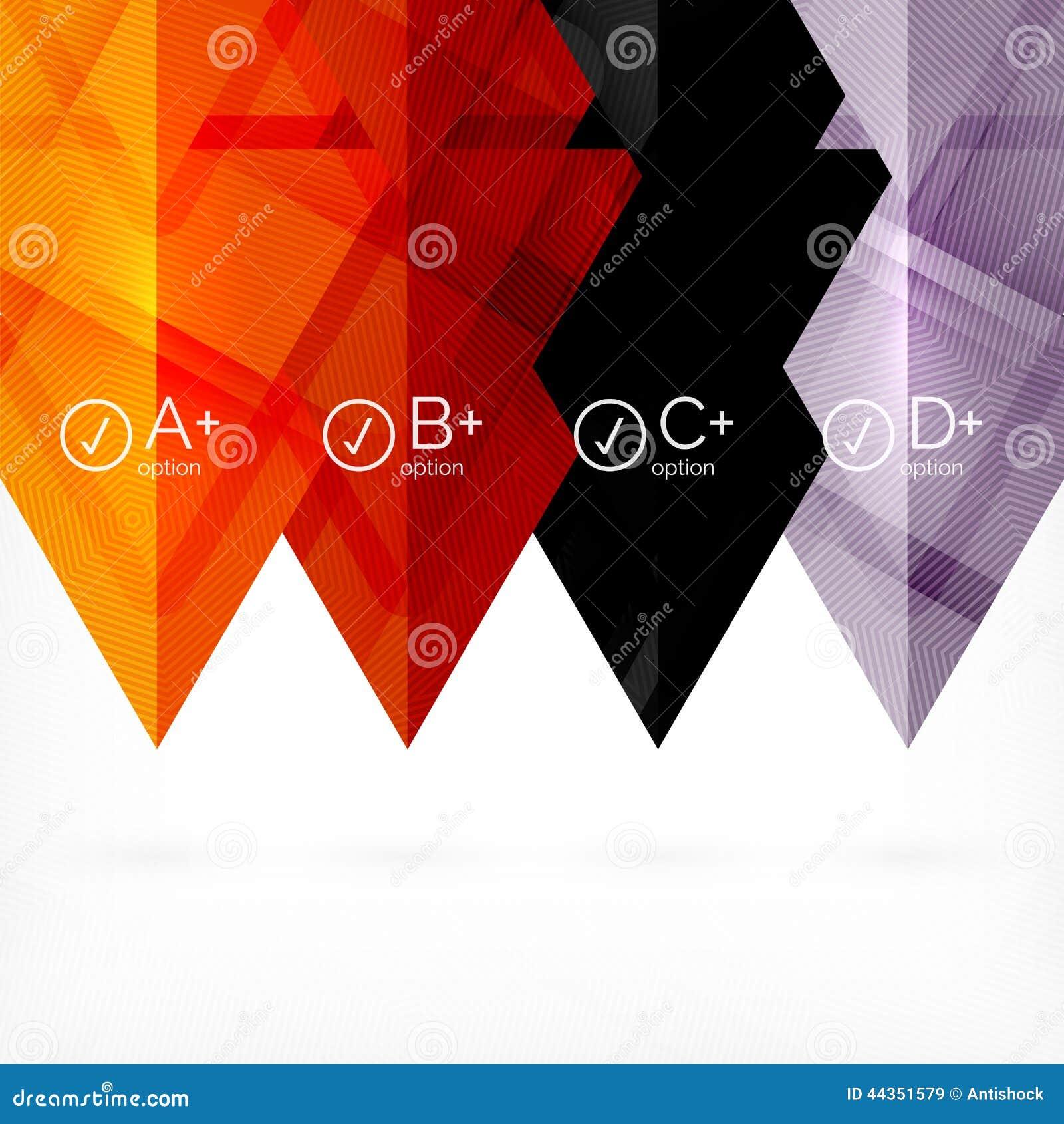 Fondo futuristico geometrico di affari di Ciao-tecnologia