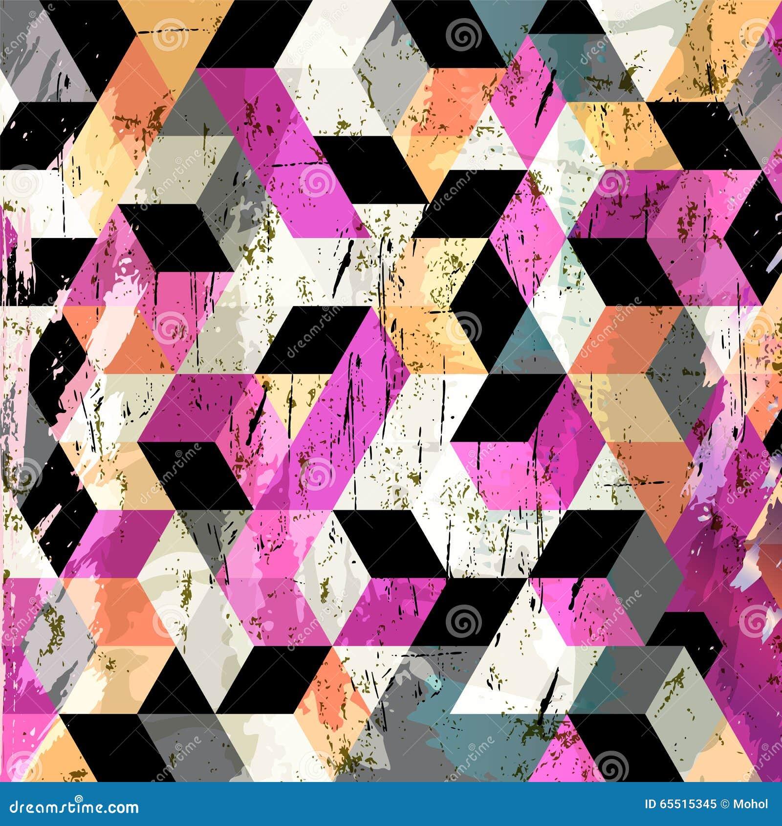 Fondo geométrico abstracto,