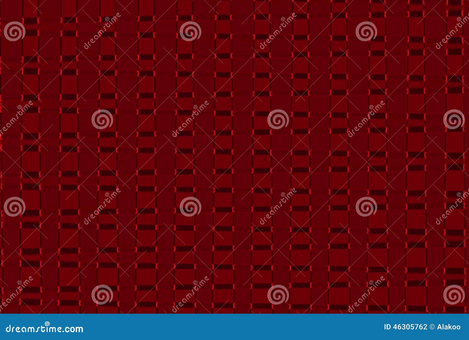Fondo geométrico del modelo del extracto del color rojo, gráfico abstracto colorido de los cuadrados de rejillas con las líneas