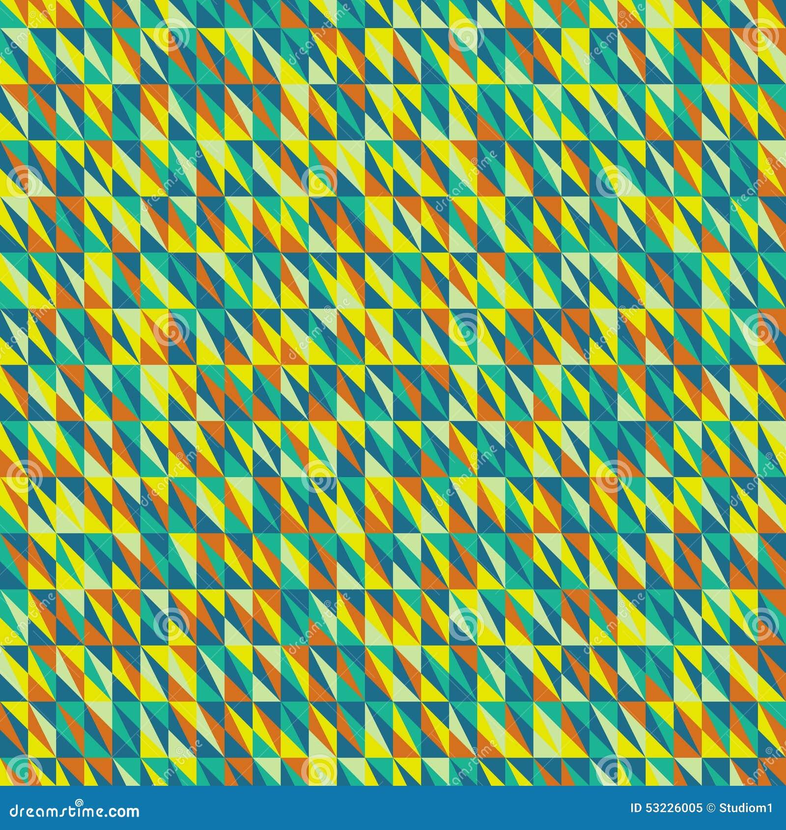 Fondo geométrico inconsútil mosaico