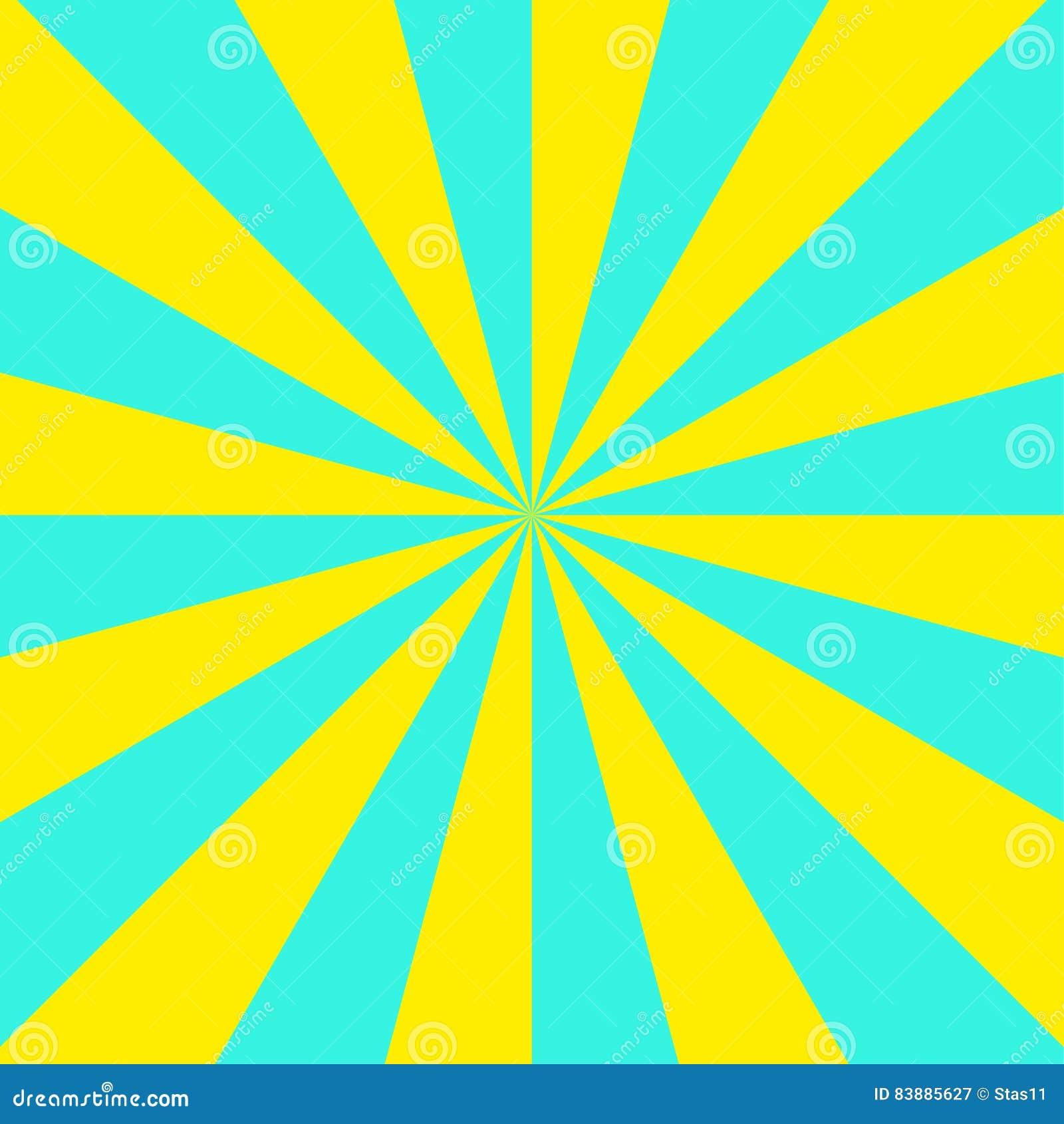 Fondo Geometrico Astratto Con I Triangoli Gialli E Blu