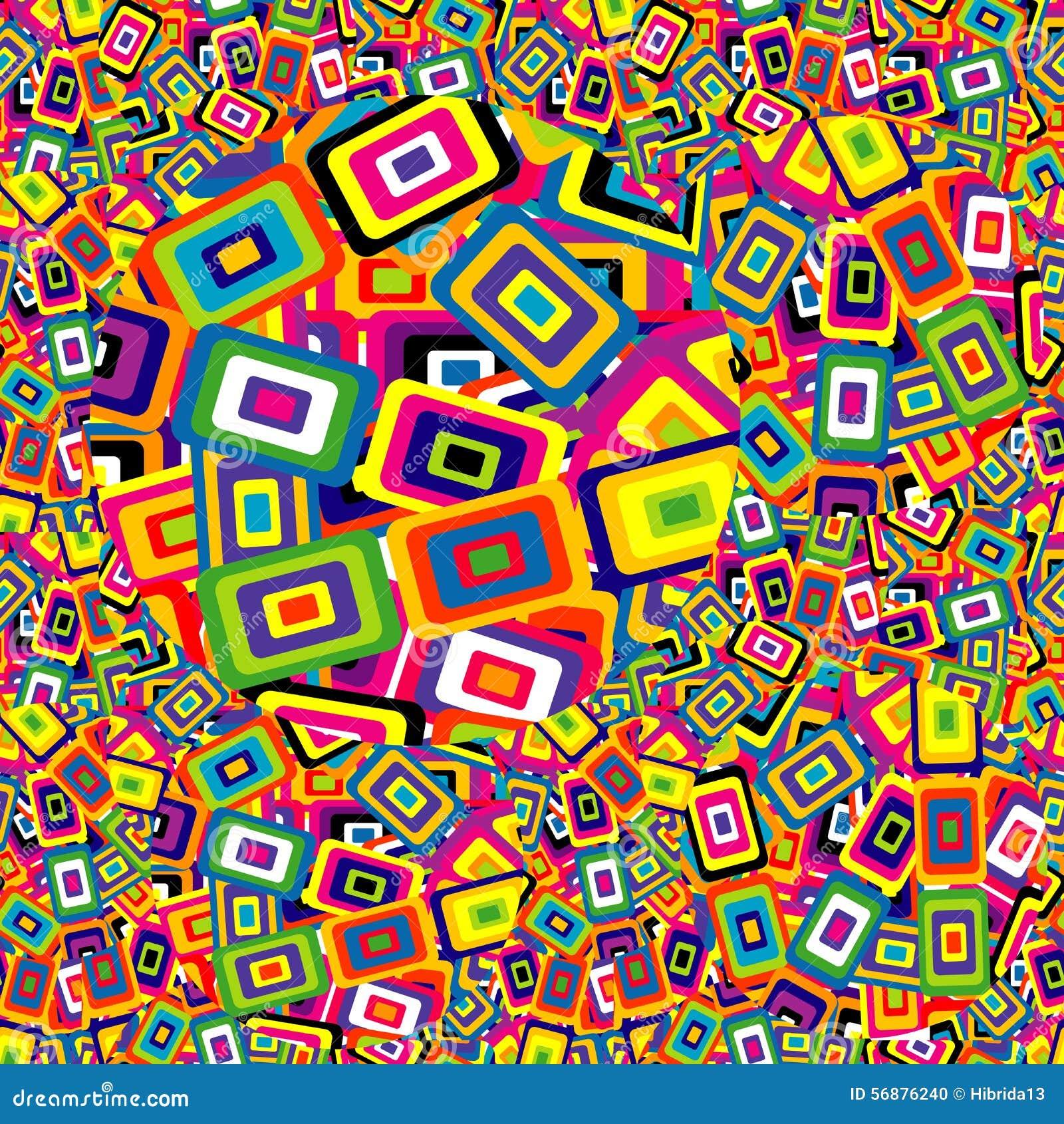 Fondo geometrico di forme