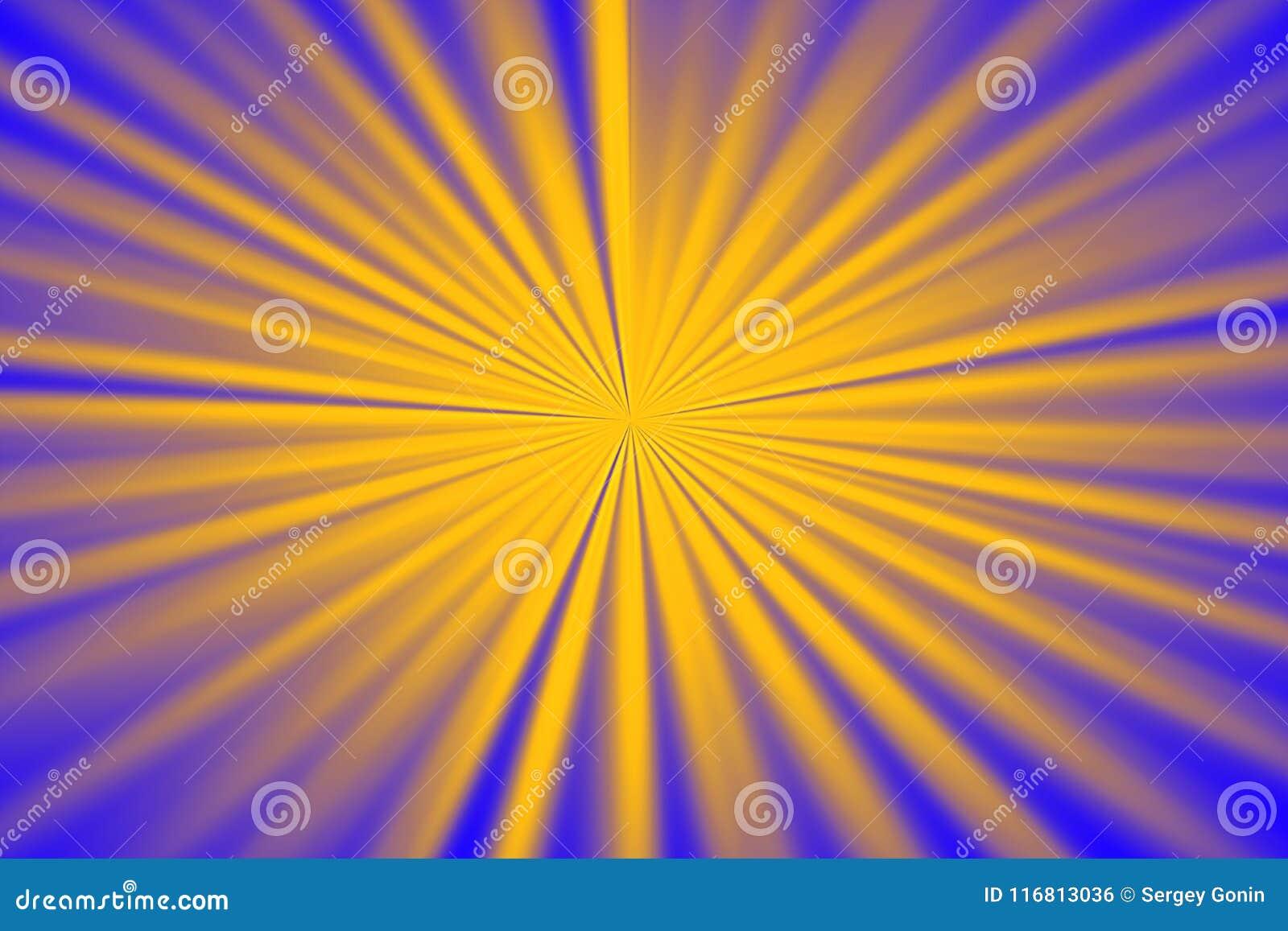 Fondo giallo-blu astratto per progettazione