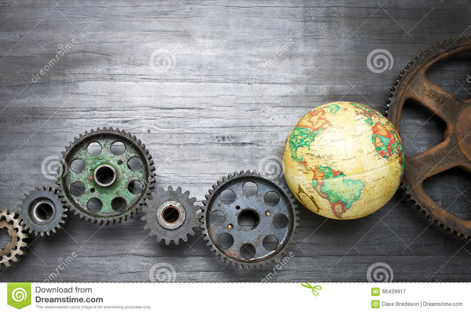 Fondo global del mundo del negocio de los dientes
