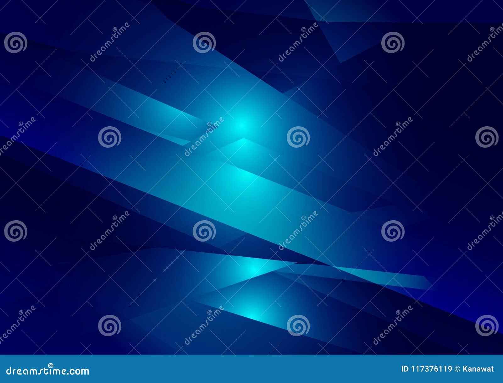 Fondo grafico di vettore di colore dell illustrazione geometrica blu di pendenza Progettazione poligonale di vettore per il vostr