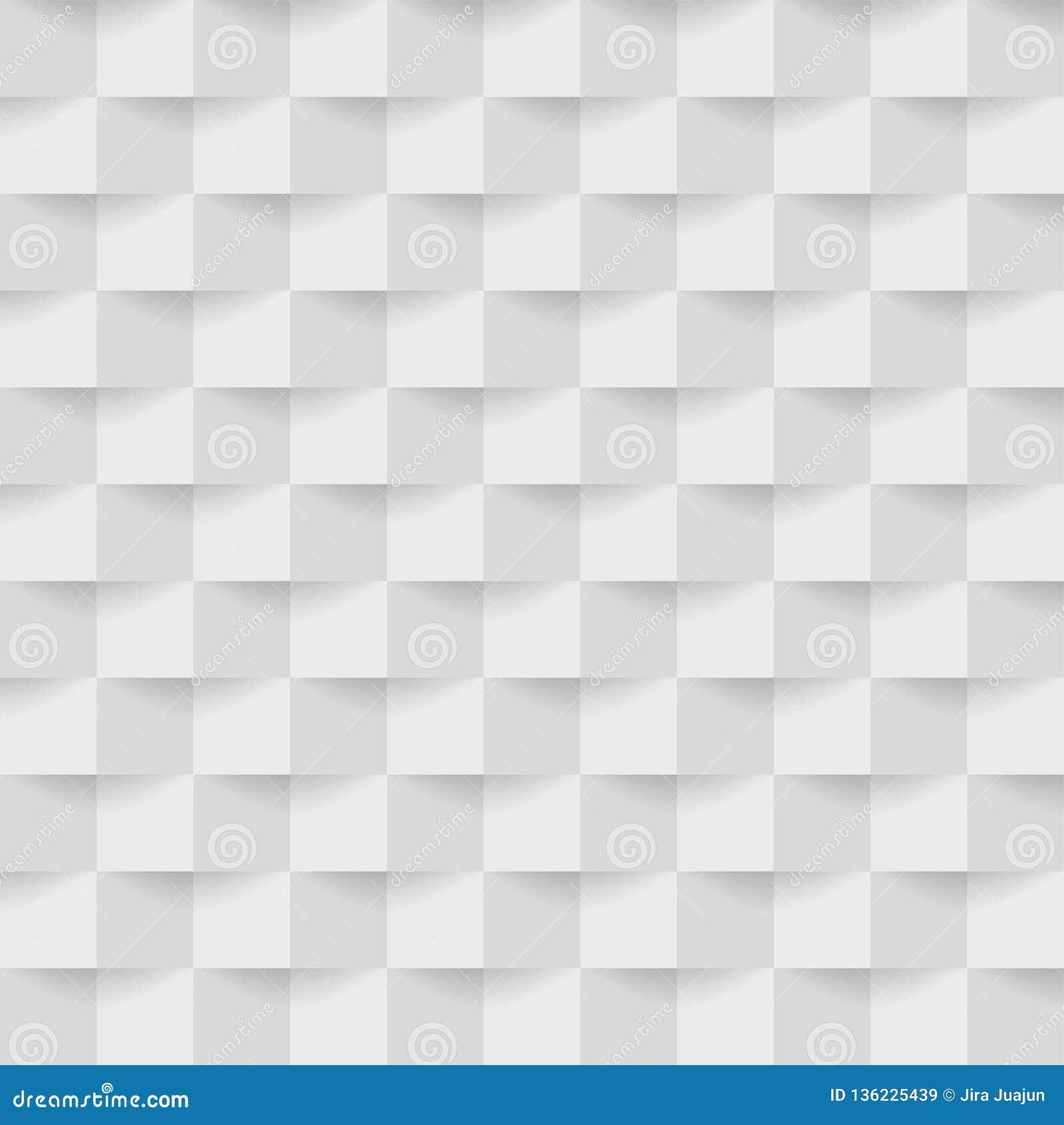 Fondo grigio astratto dei quadrati