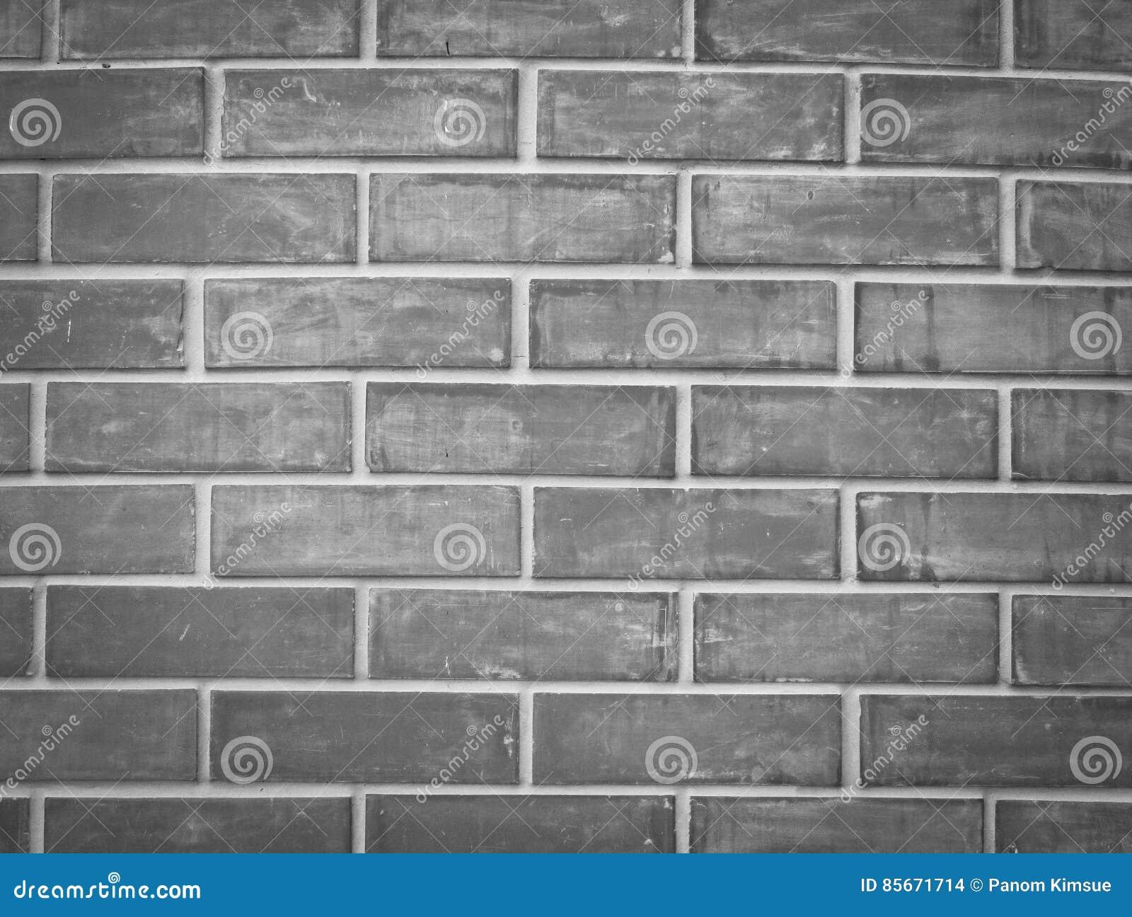 Fondo Grigio Di Struttura Del Muro Di Mattoni Per Linterno E L