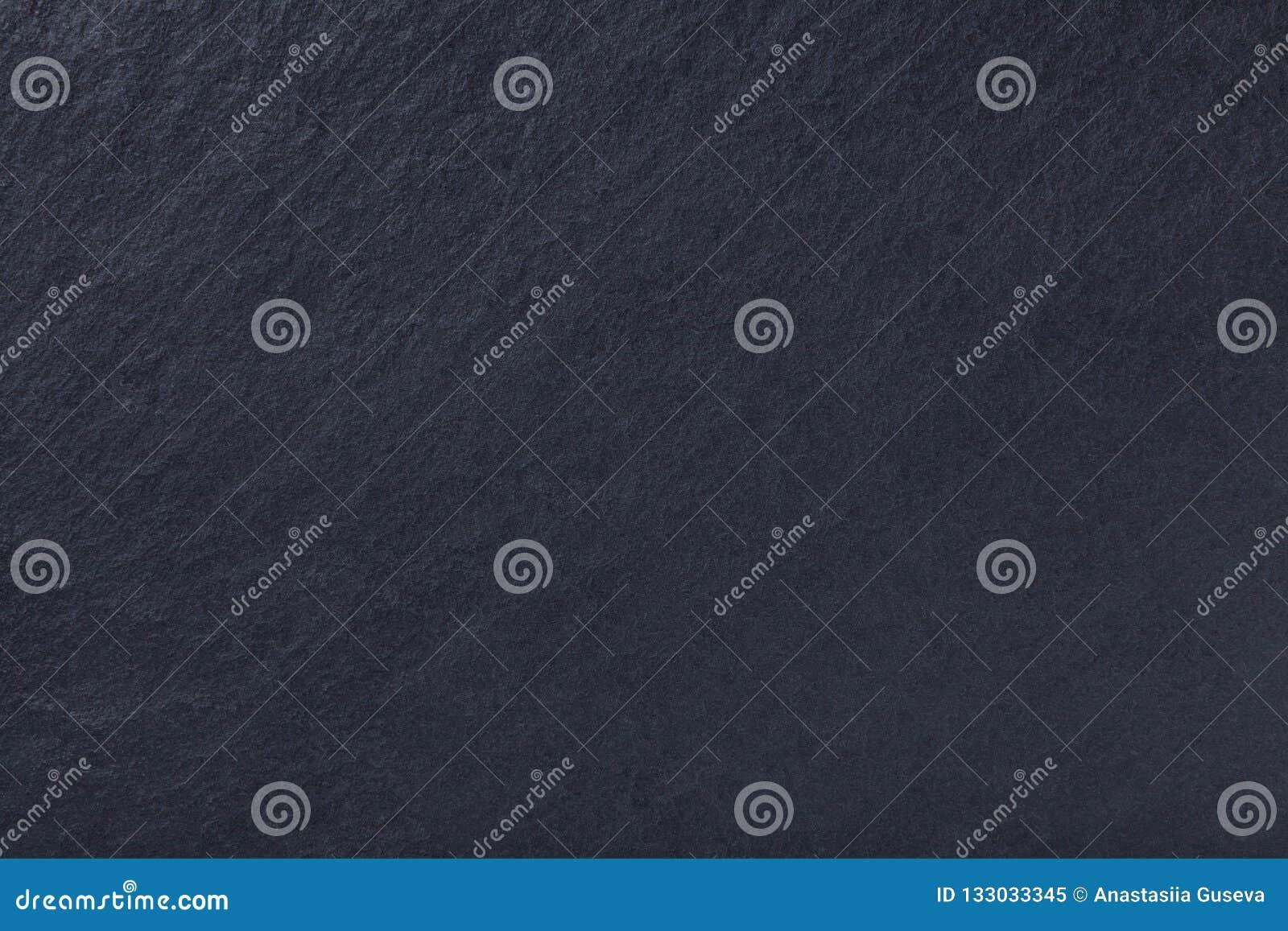 Fondo grigio scuro dell ardesia naturale Pietra nera di struttura
