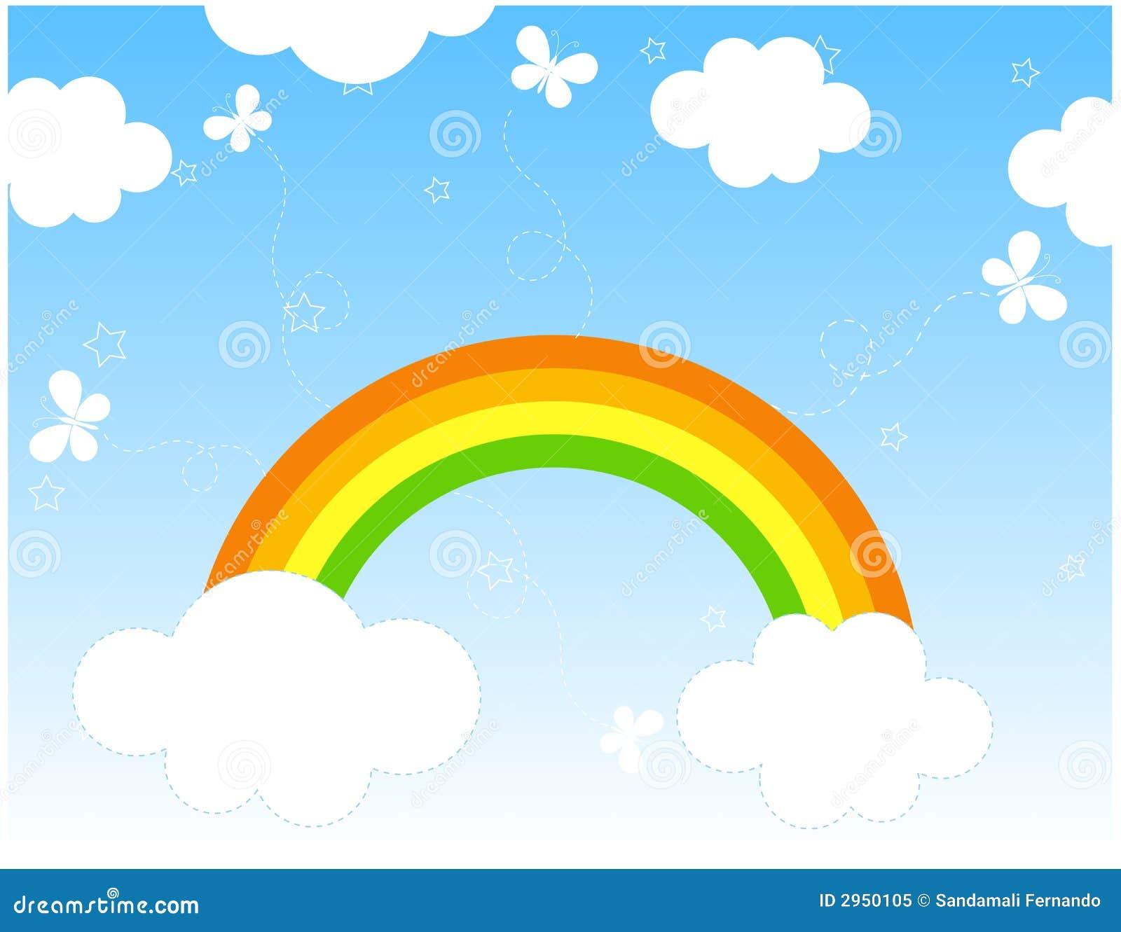 Fondo/historieta del arco iris