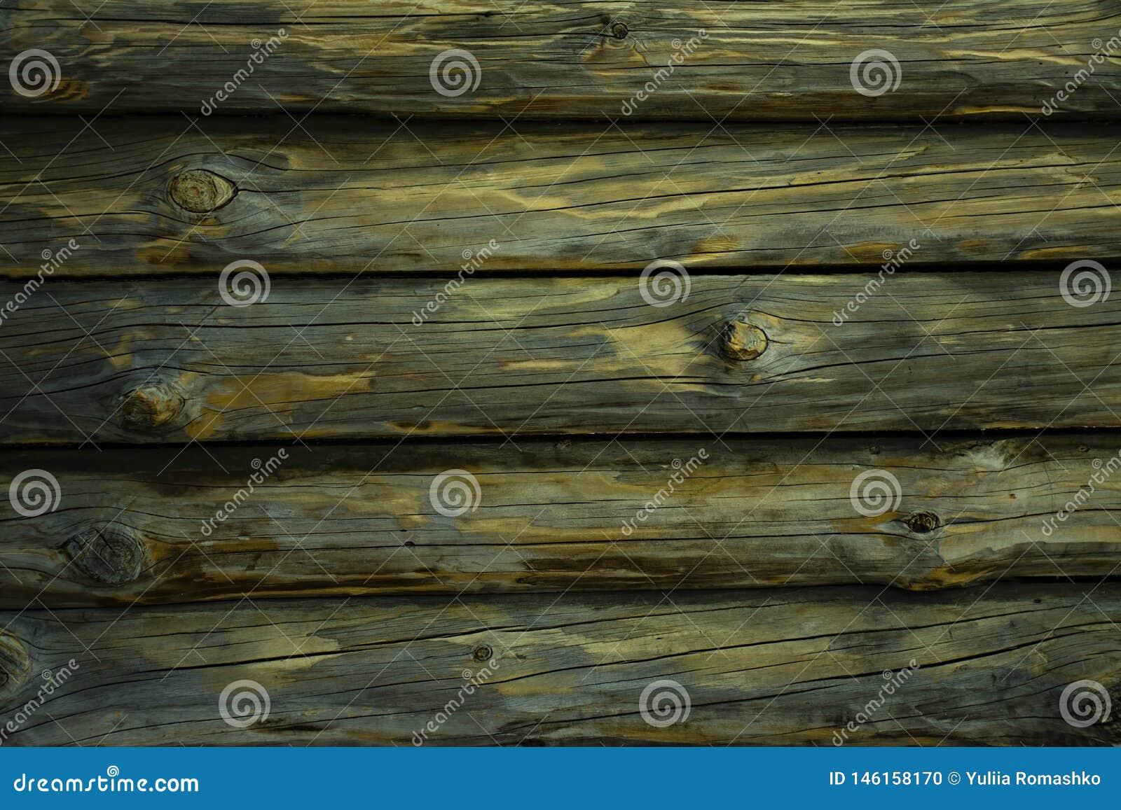 Fondo horizontal de madera texturizado con el espacio de la copia Cubiertas horizontales Lugar para el texto
