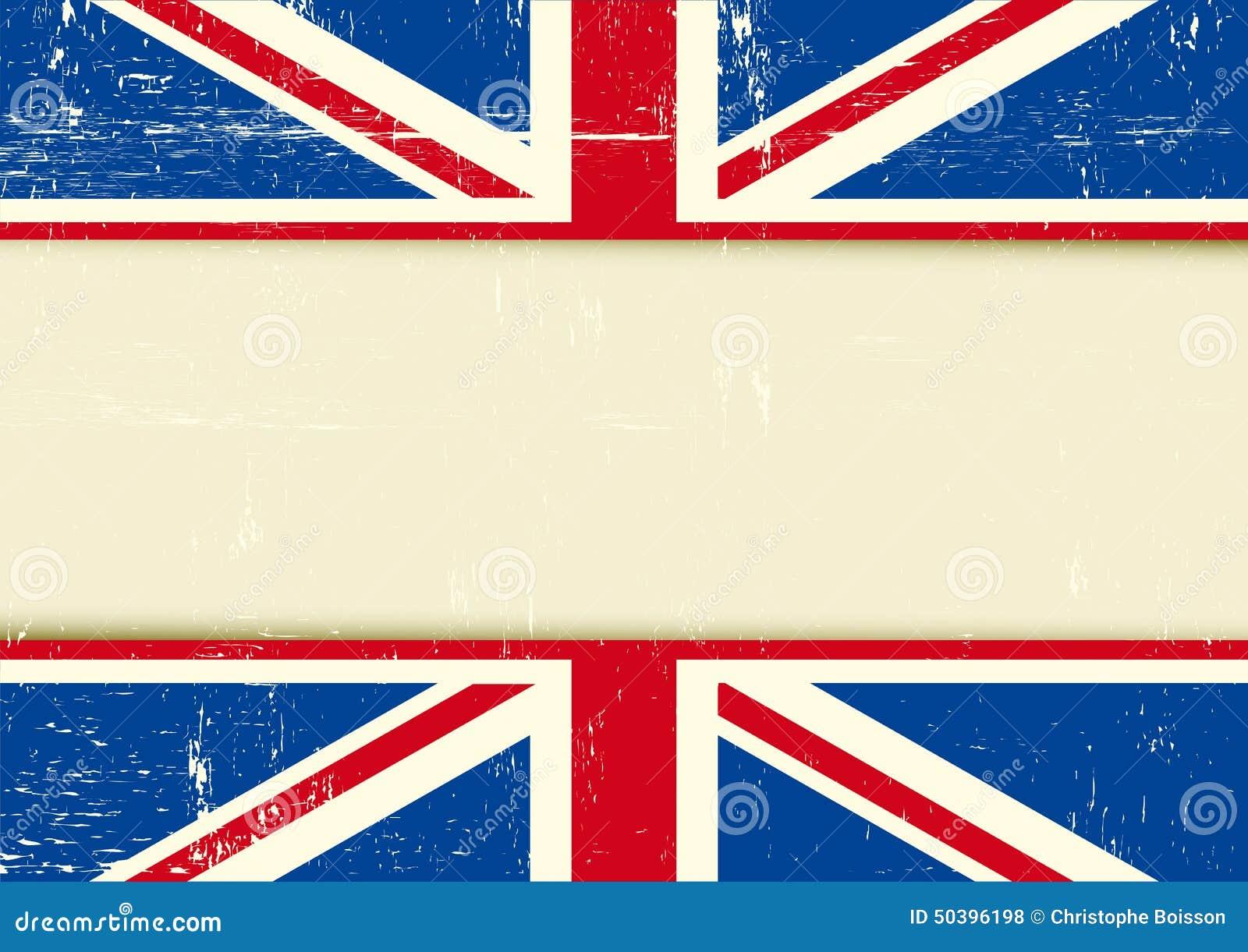 Fondo Horizontal Rasguñado Reino Unido Ilustración del Vector ...