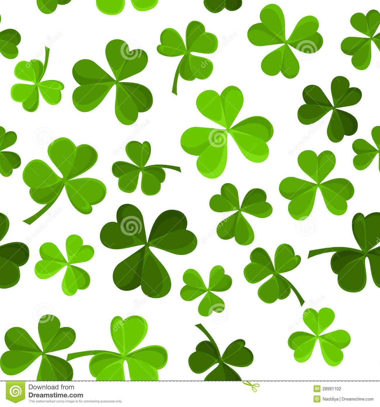 shamrock pattern wallpaper 1366x768 - photo #13