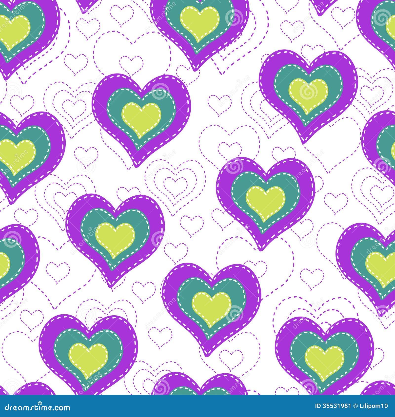 corazones de colores fondo - photo #16