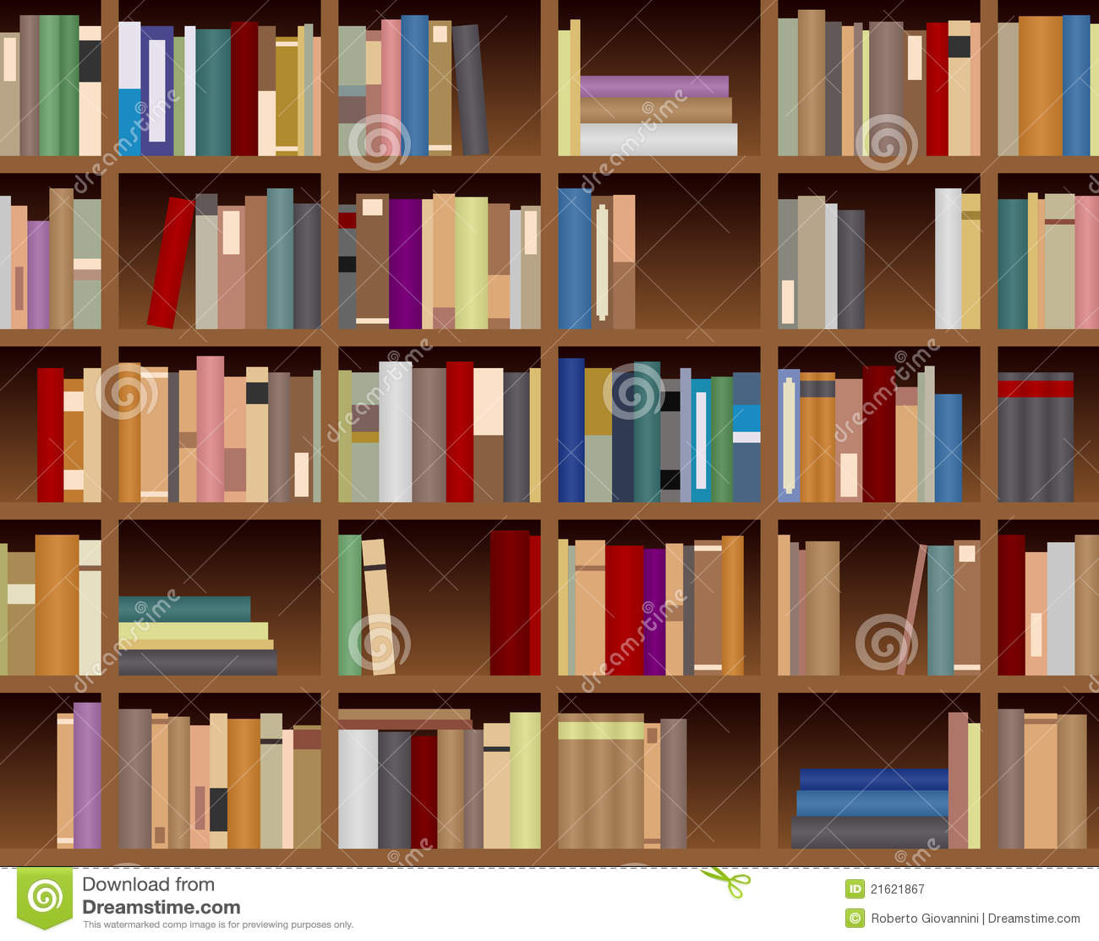 Fondo incons til del estante para libros fotograf a de - Estantes para libros ...