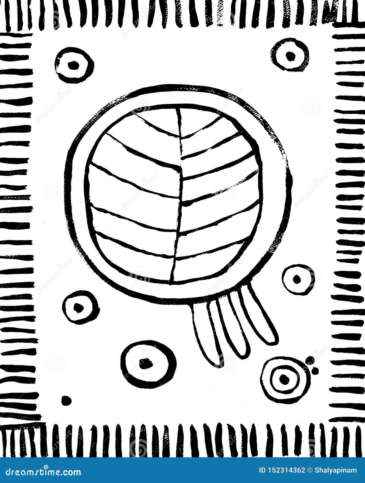 Fondo interior abstracto de moda del cartel Para imprimir