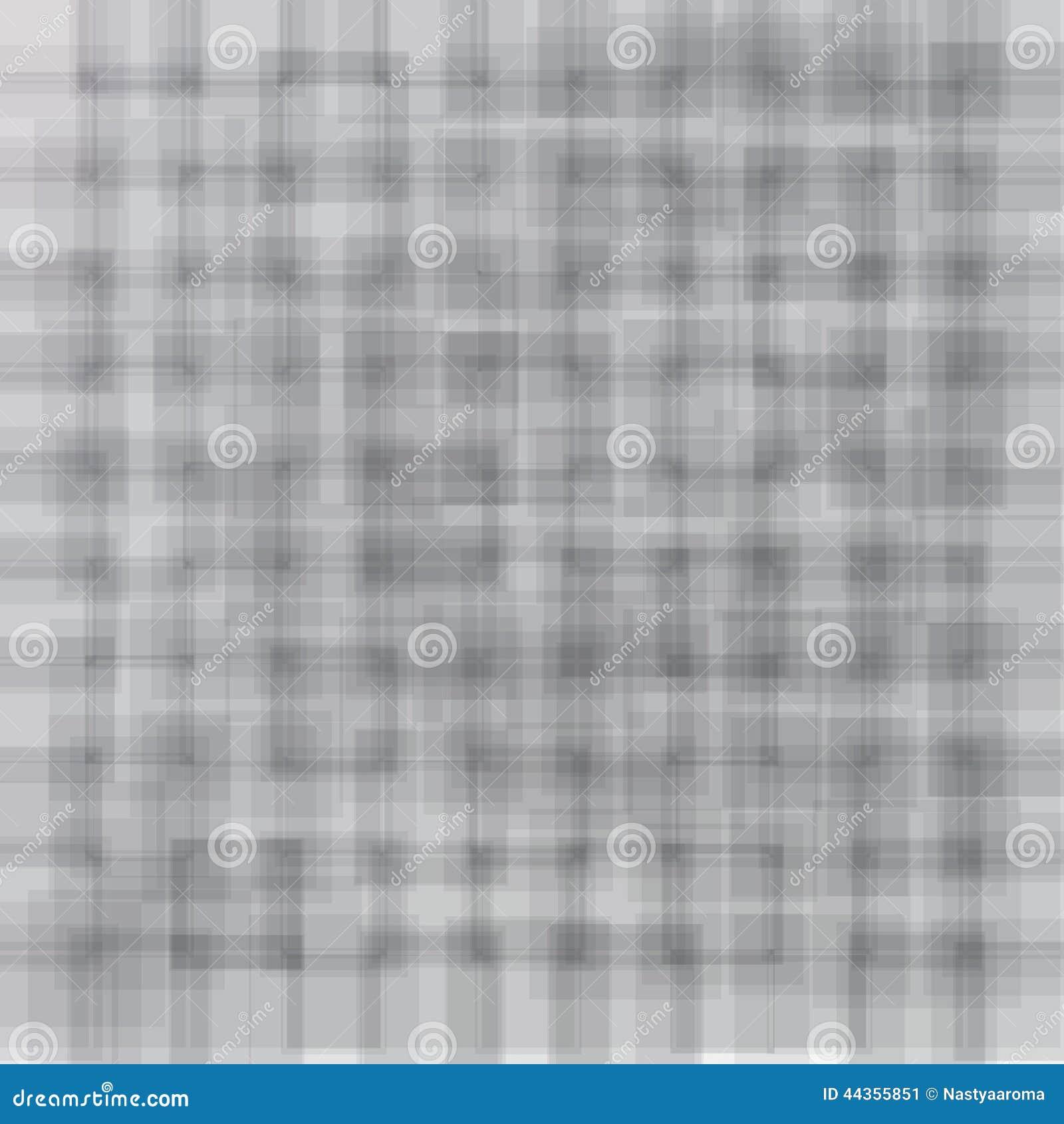 Fondo leggero con i quadrati grigi molli