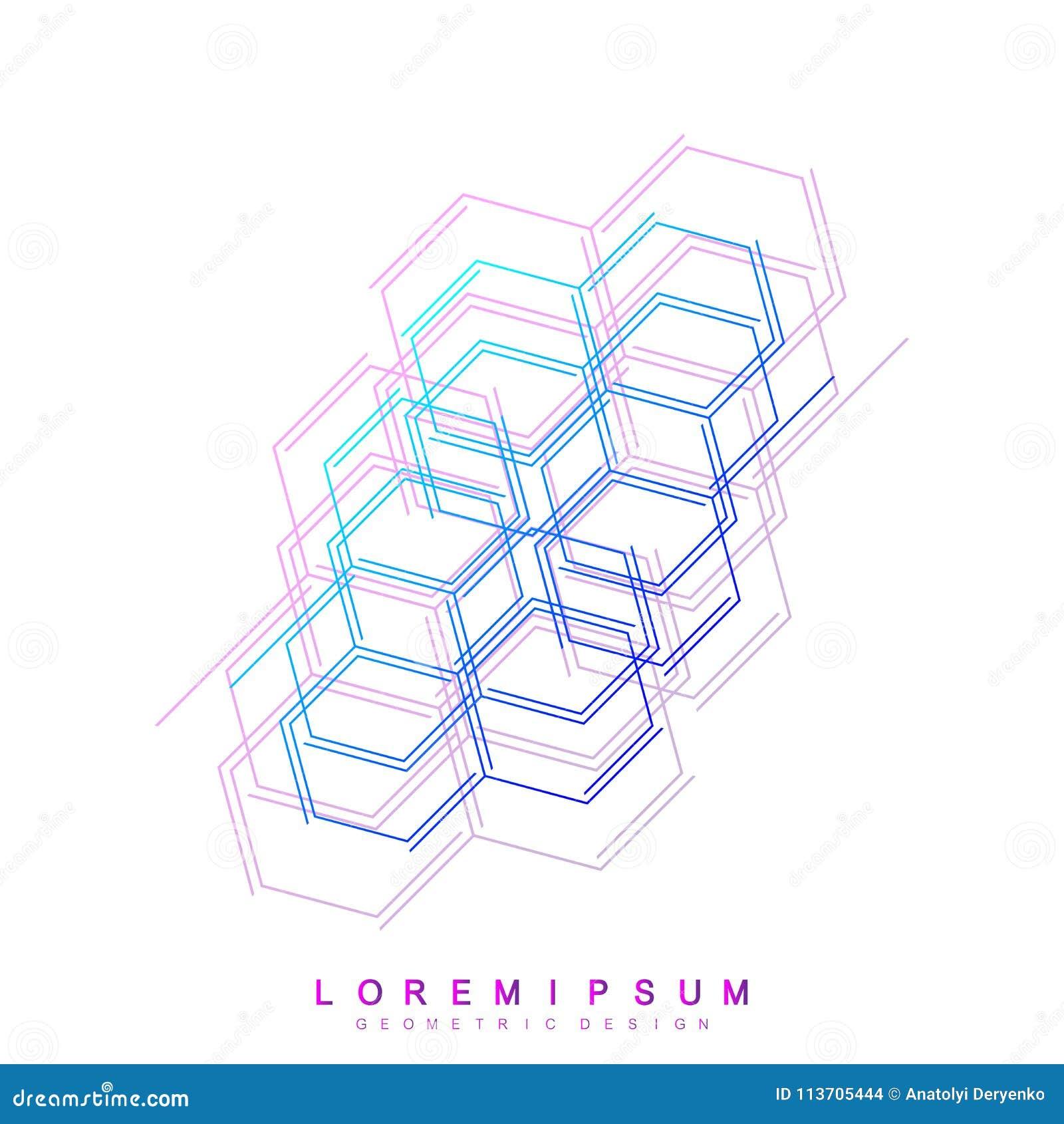 Fondo médico abstracto Res muerta hexagonal, conexión genética Molécula de la estructura y fondo de la comunicación