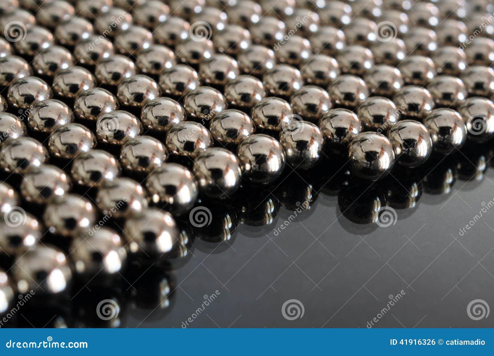 Fondo magnético de las bolas