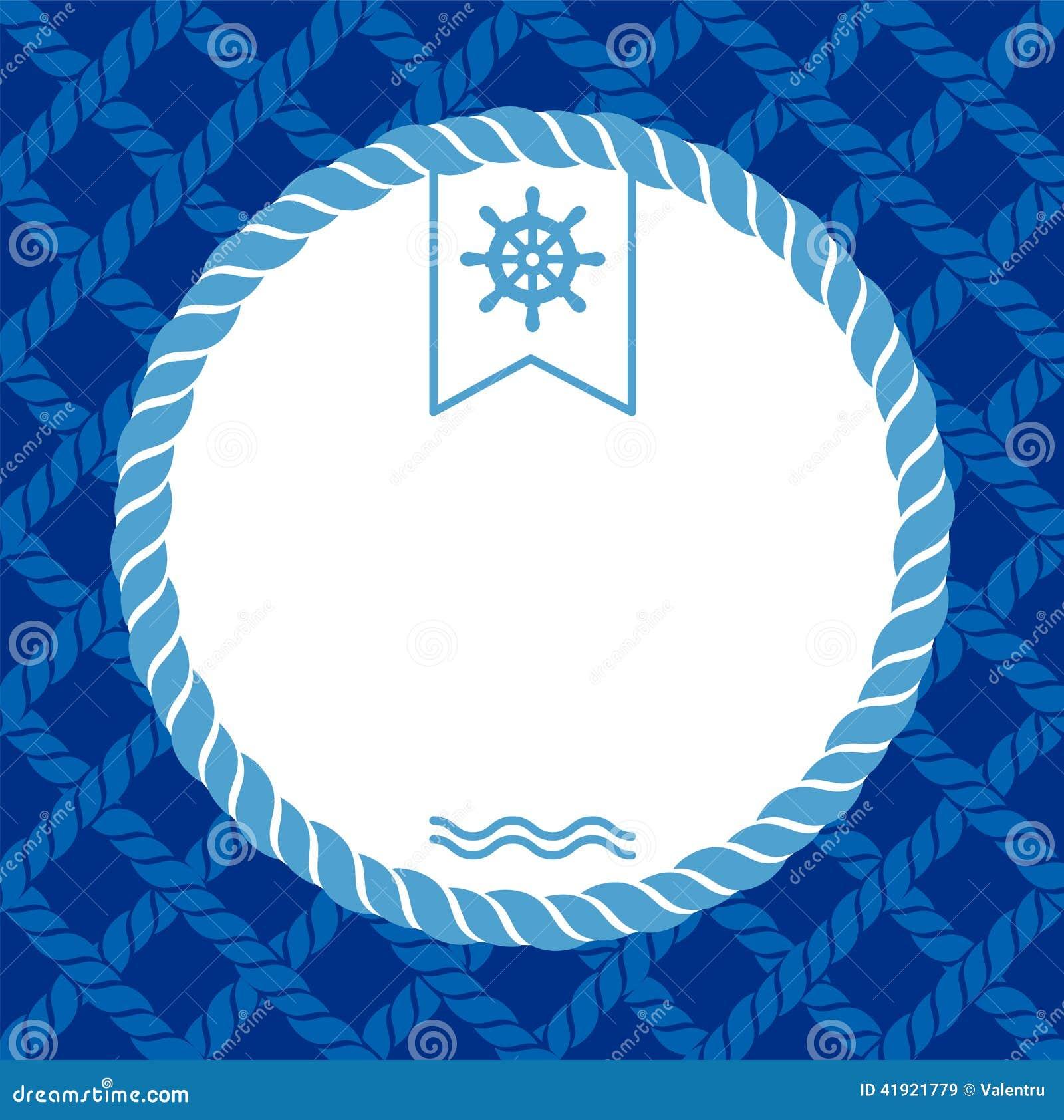 Fondo marino con las cuerdas