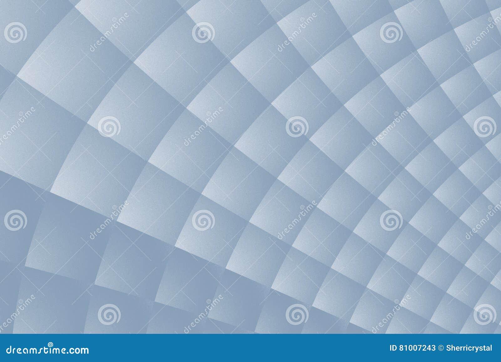 Fondo mate del fractal del gris de acero con una estructura fina y un modelo cuadrado torcido
