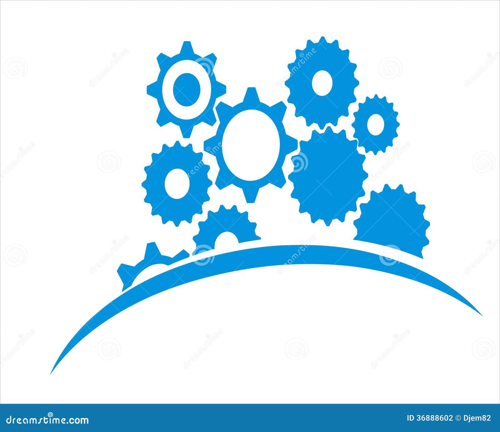 Download Fondo meccanico illustrazione vettoriale. Illustrazione di decorativo - 36888602