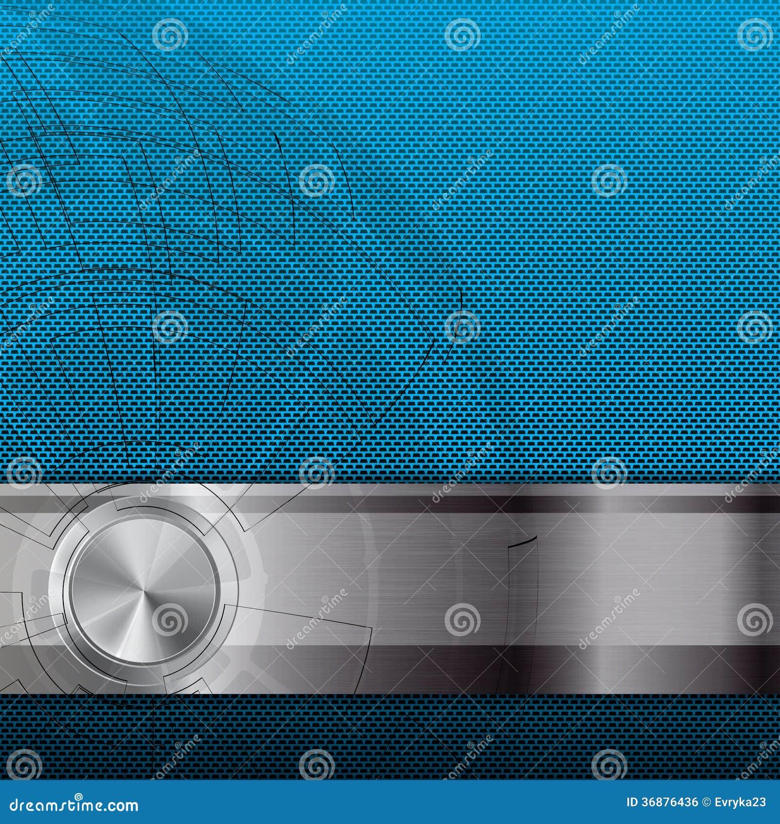 Download Fondo Metallico Astratto Di Griglia Illustrazione di Stock - Illustrazione di futuristico, macchina: 36876436