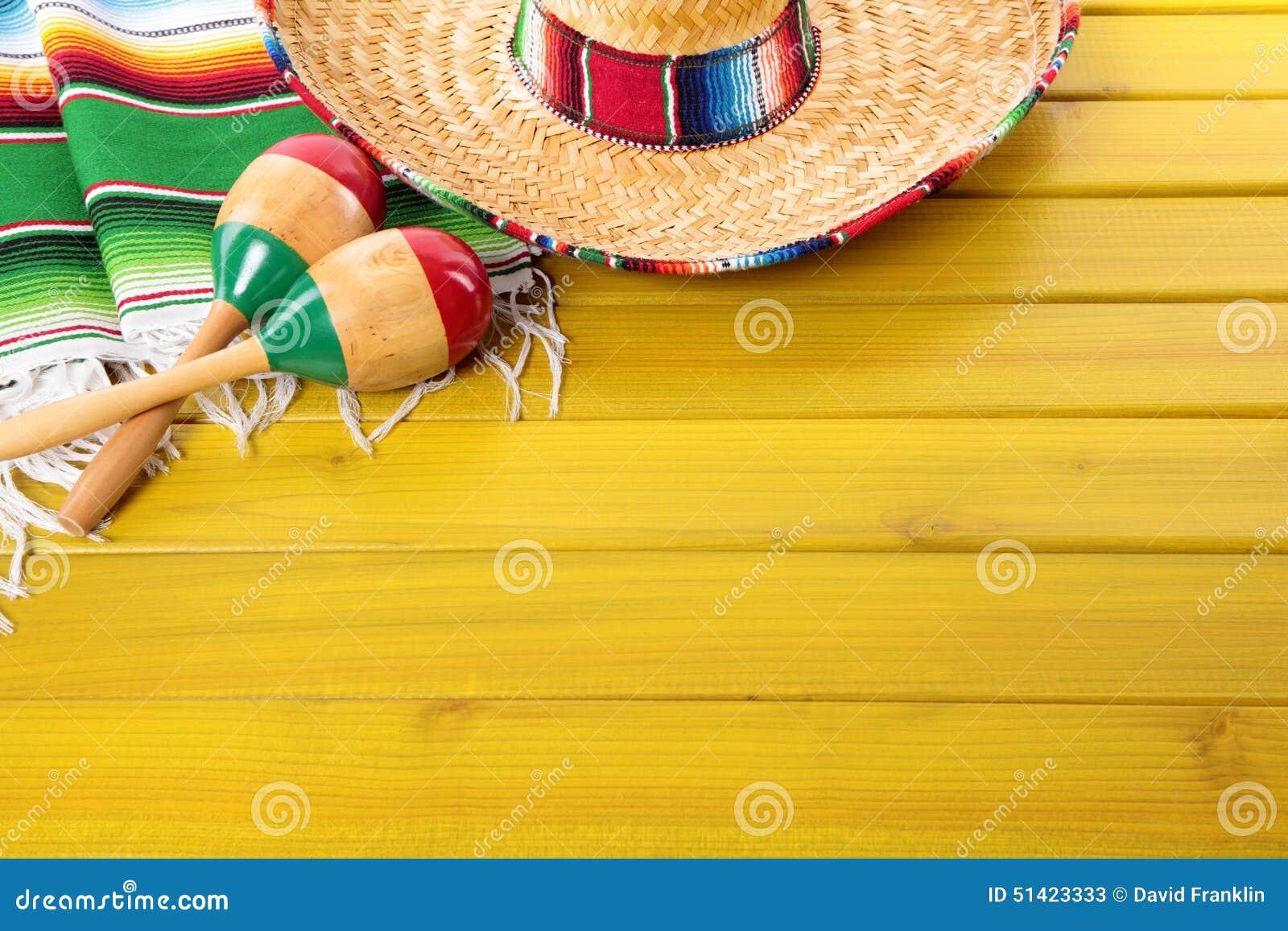 Fondo mexicano con el copyspace