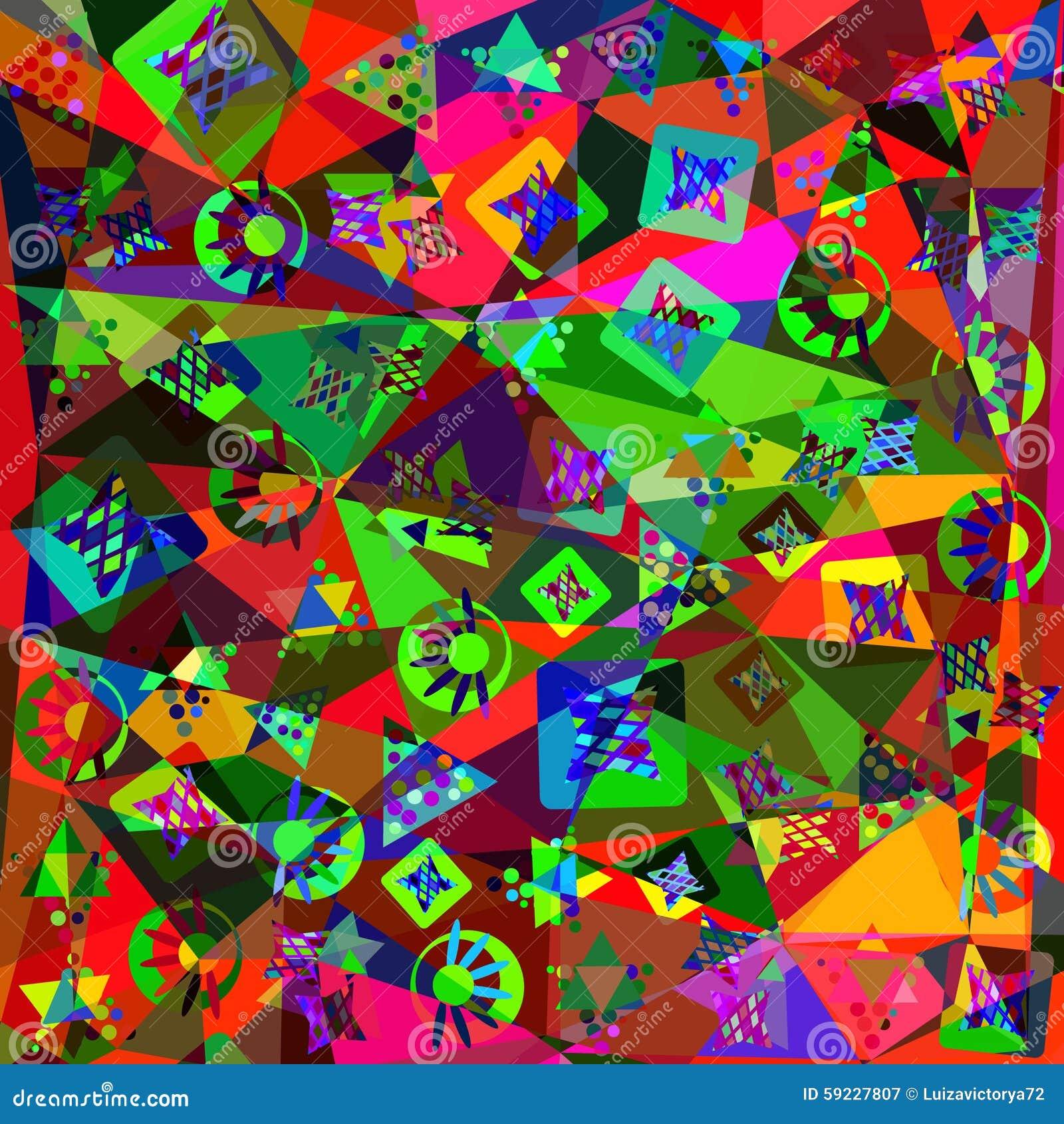 Download Fondo Moderno Abstracto Colorido, Ejemplo Ilustración del Vector - Ilustración de artístico, geométrico: 59227807