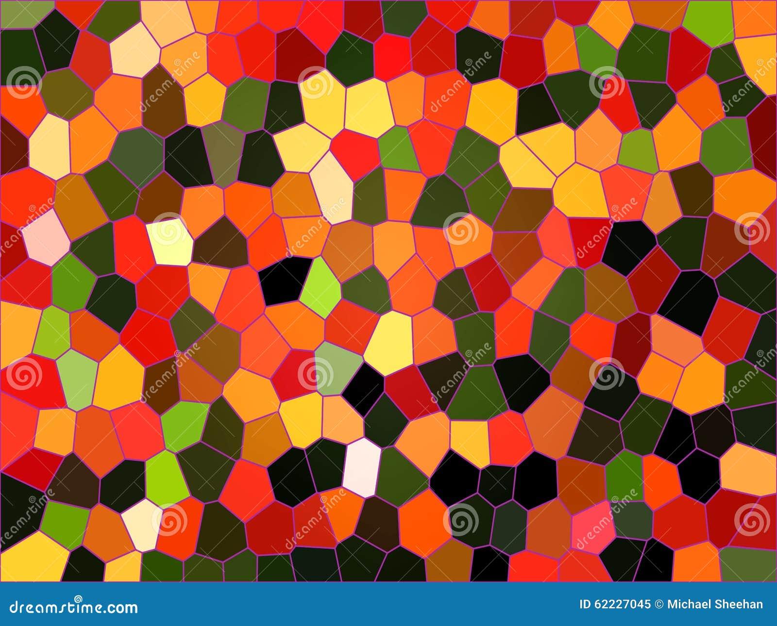 Fondo moderno del mosaico