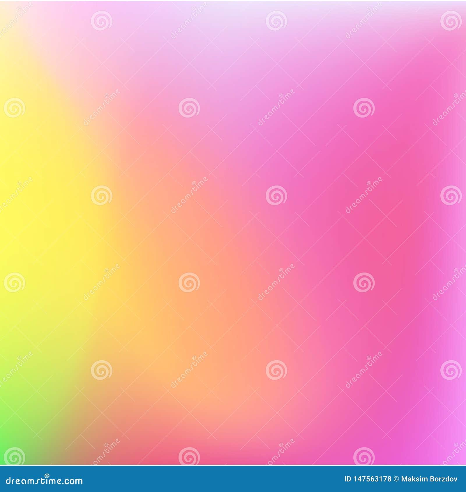 Fondo molle di colori dell estratto luminoso di pendenza Disegno di vettore