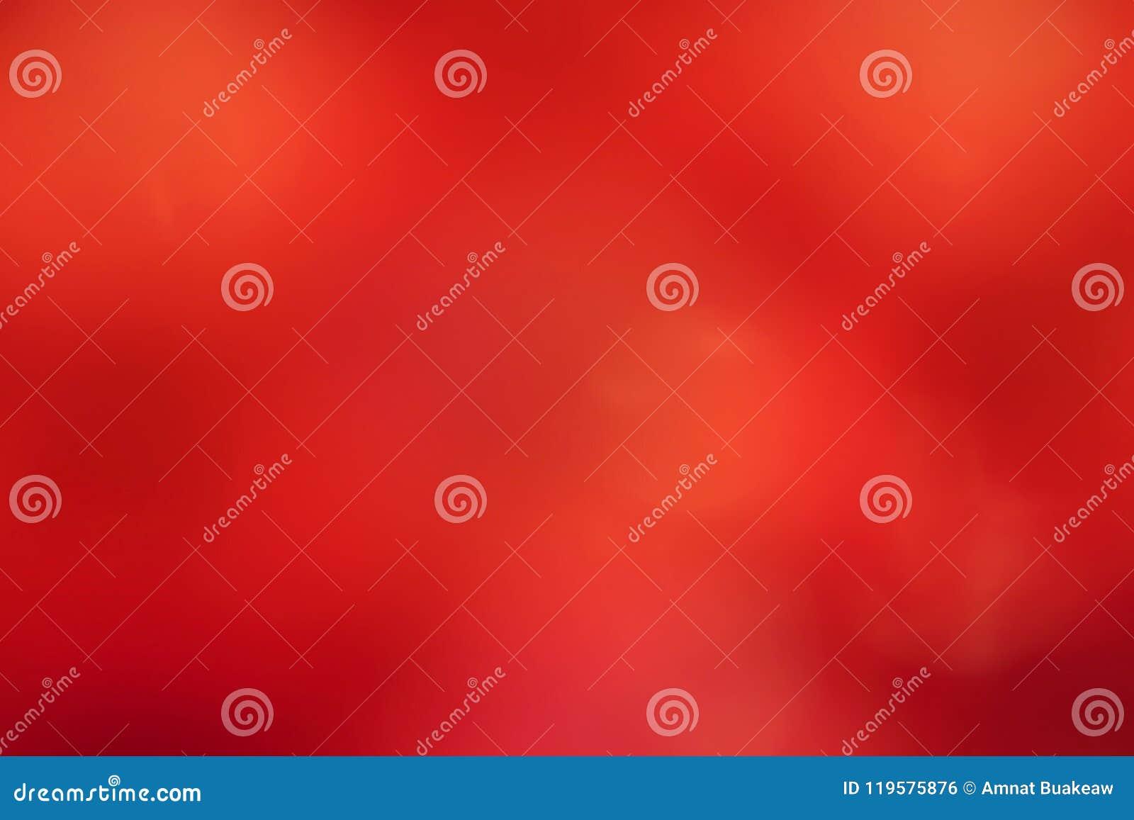 Fondo molle rosso, fondo molle vago di pendenza rossa, fondo molle variopinto dell estratto del bokeh dell ombra della luce rossa