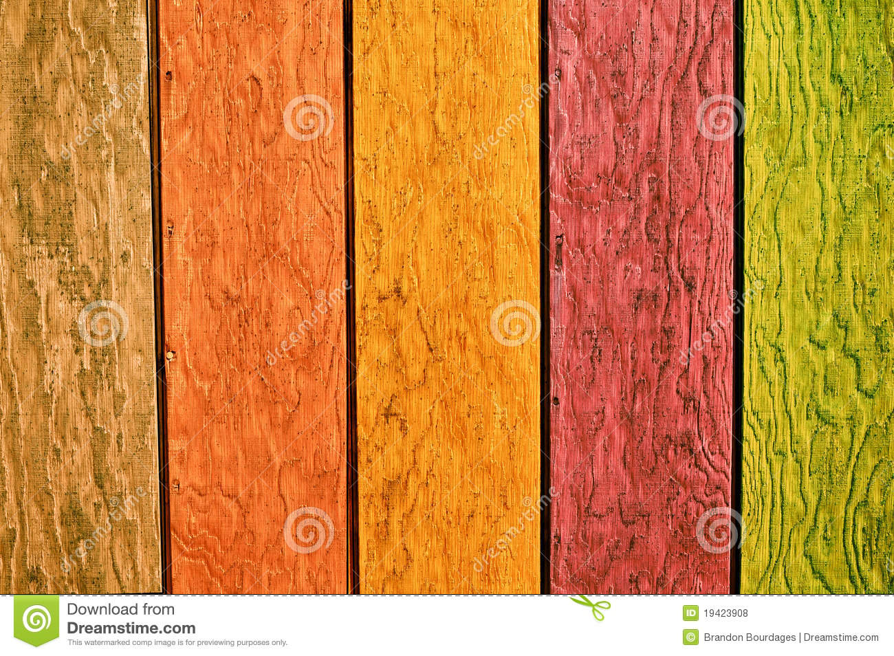 Fondo multi de madera del color fotos de archivo libres de for Colores de madera