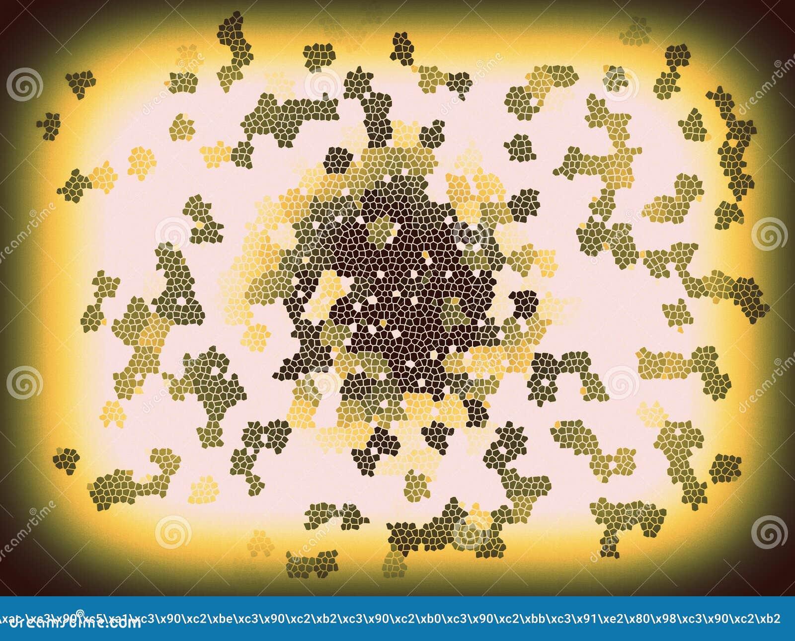 Fondo multicolor abstracto de la textura Fondos coloridos del mosaico del arte Chapoteo místico Explosión del espacio Creativo te