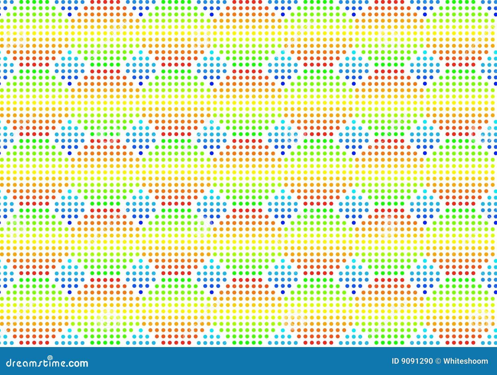 Fondo multicolor inconsútil del volumen