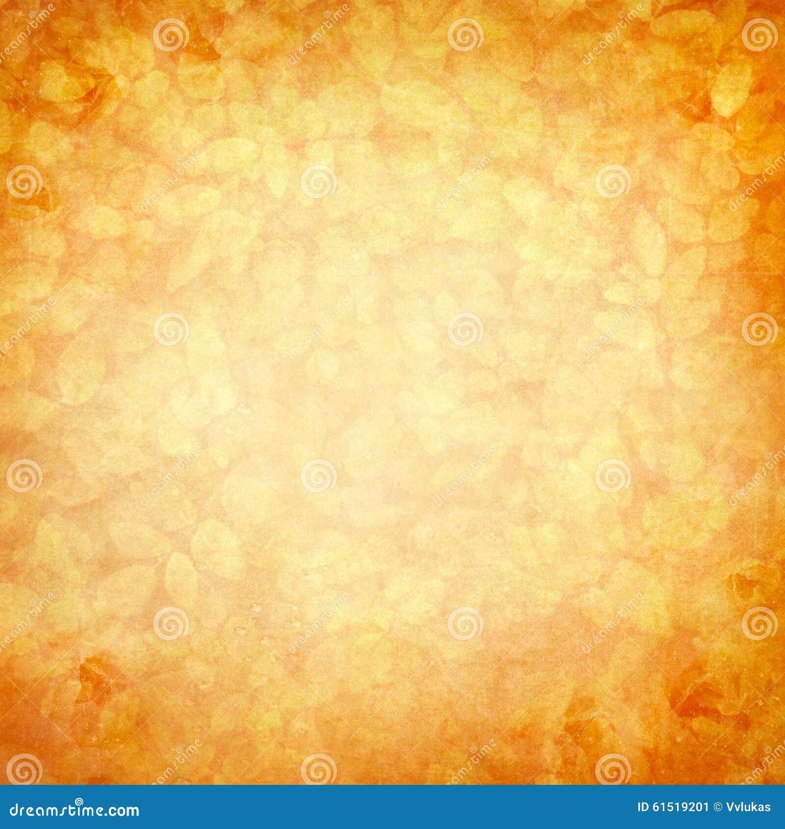 Fondo naranja amarillo rom ntico del vintage imagen de - Amarillo naranja ...