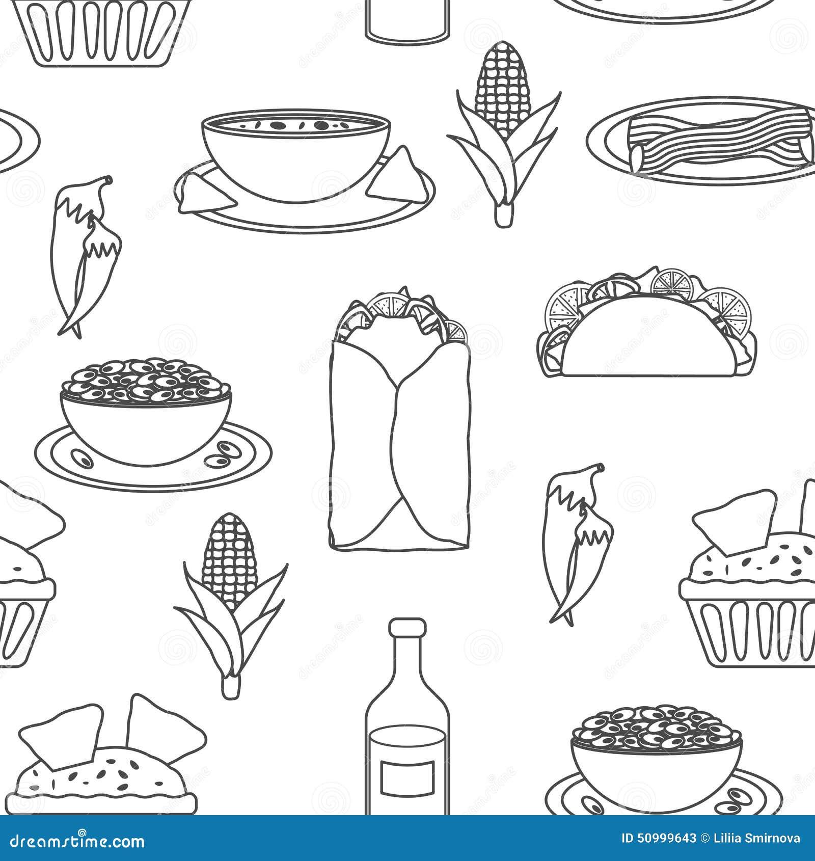 comer en el restaurant dibujos