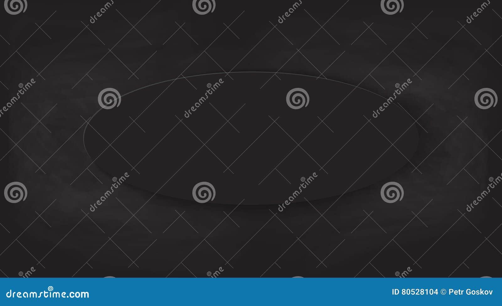 La Pietra Della Lavagna fondo nero della lavagna struttura di vettore illustrazione