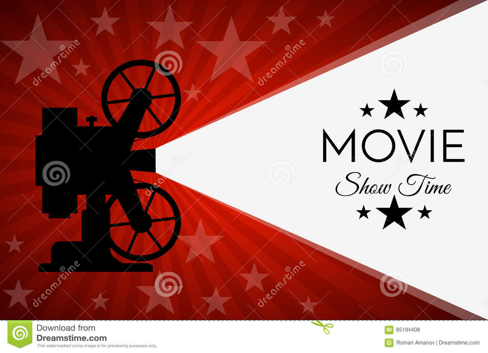 Fondo o bandera del cine Plantilla del boleto del aviador de la película