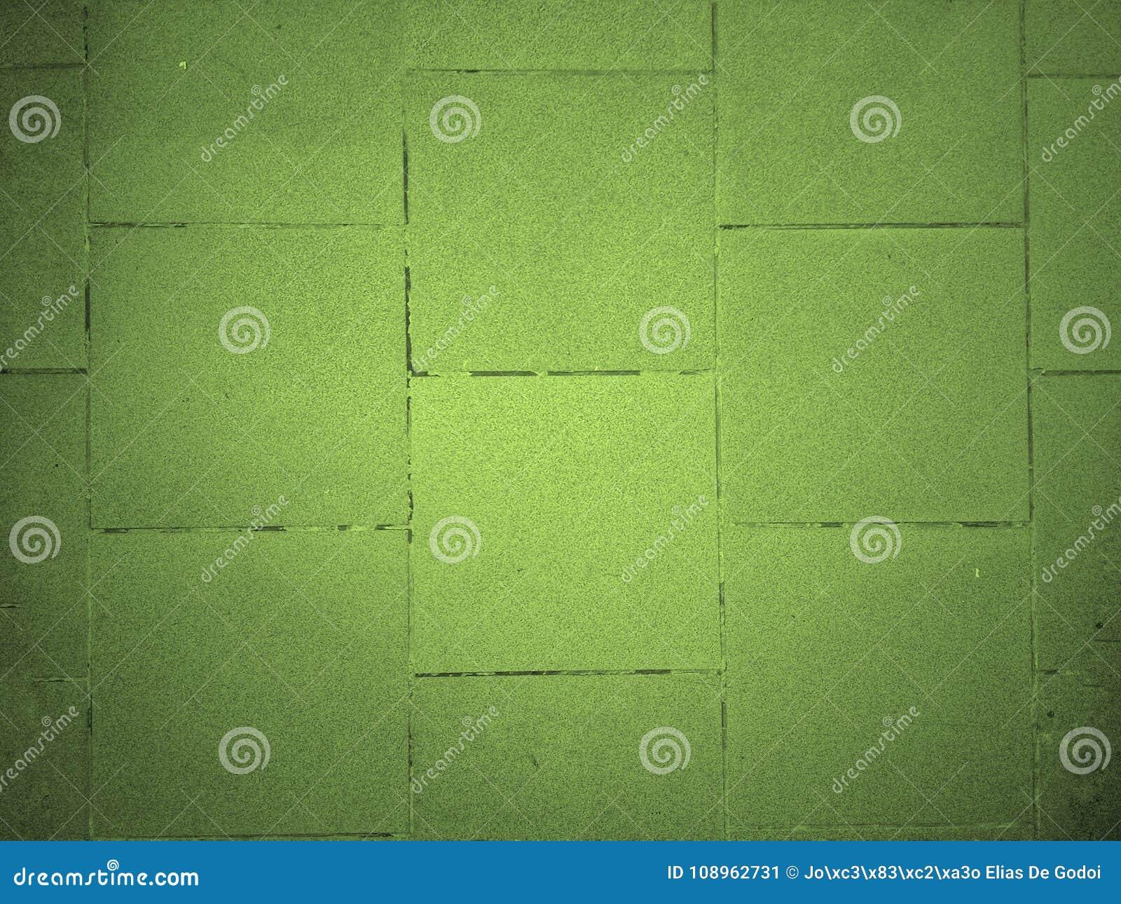 Sfondo di piastrelle marrone blu e piastrelle verdi texture