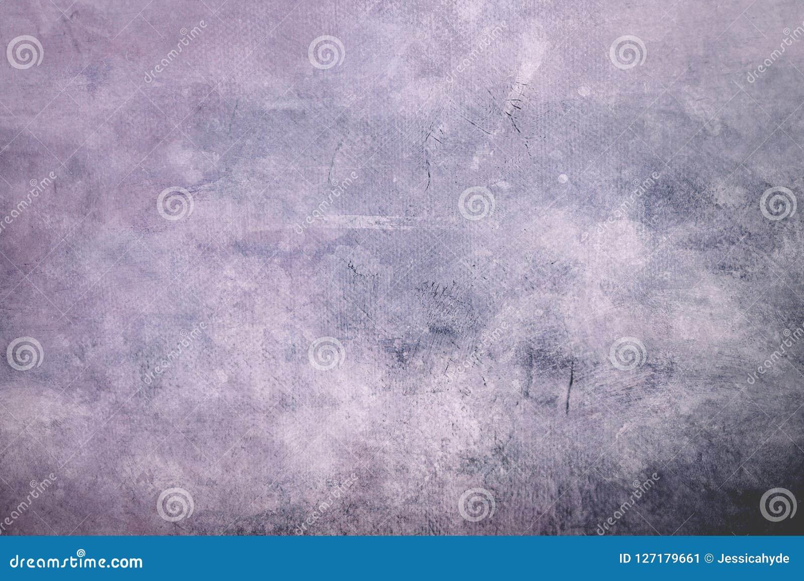 Fondo o textura sucio púrpura pálido de la lona con el vignett oscuro
