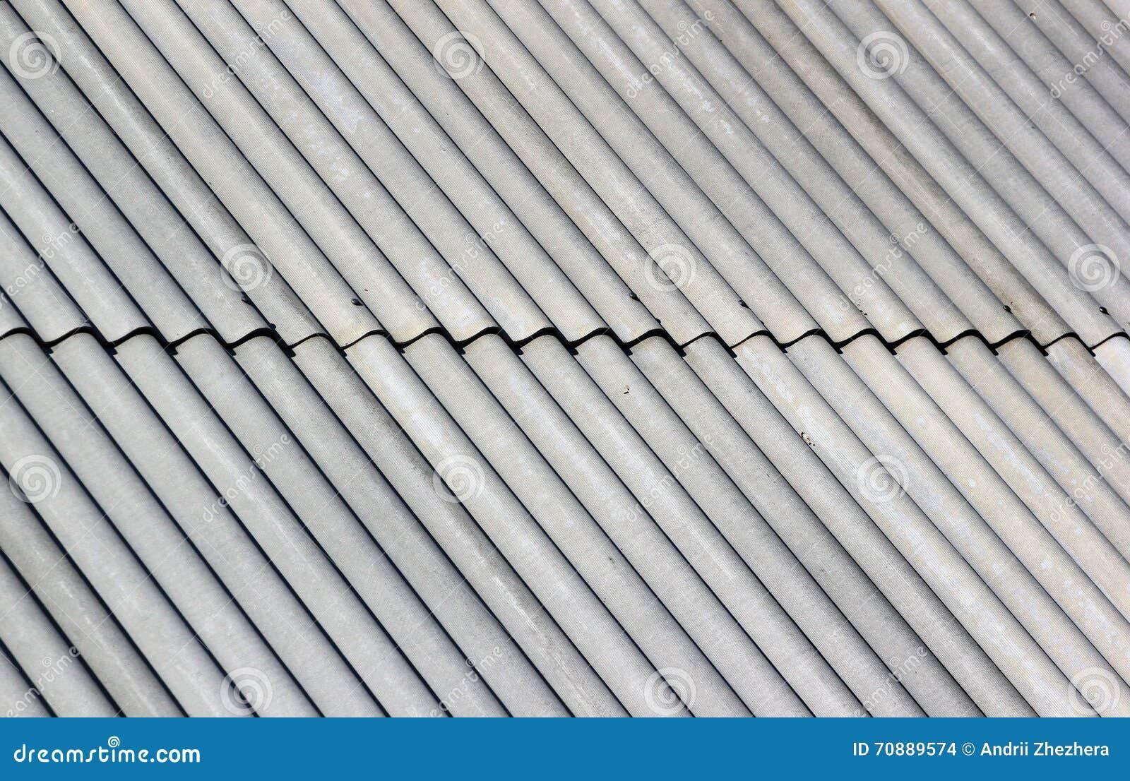 Fondo ondulado gris del modelo del tejado de pizarra foto - Tejado de pizarra ...